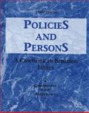 Policies and Persons 9780070245099