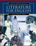 Literature for English, Advanced One 9780072565102