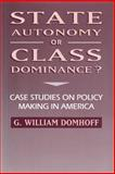 State Autonomy or Class Dominance? 9780202305127