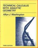 Technical Calculus with Analytic Geometry 9780805395129