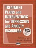 Treatment Plans and Interventions for Depression and Anxiety Disorders 9781572305144