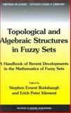 Topological and Algebraic Structures in Fuzzy Sets 9781402015151