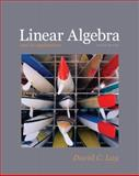 Linear Algebra and Its Applications 9780321385178