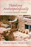 Thinking Anthropologically 9780131835207