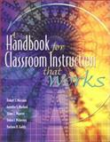 A Handbook for Classroom Instruction That Works 9780871205223