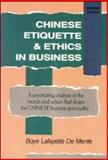 Chinese Etiquette and Ethics in Business 9780844285245