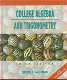 College Algebra and Trigonometry 9780534935252