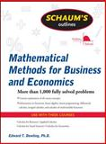 Mathematical Methods for Business and Economics 1st Edition