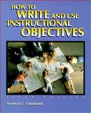 How to Write and Use Instructional Objectives 9780138865337