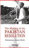 The Making of the Pakistan Resolution 9780195795387