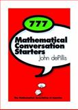 777 Mathematical Conversation Starters 9780883855409