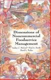 Dimensions of Noncommercial Foodservice Management 9780471285410