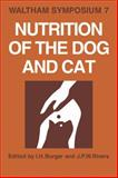 Nutrition of the Dog and Cat 9780521105453