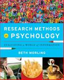 Research Methods in Psychology 1st Edition