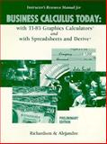 IRM for Business Calculus Today 9780030175497