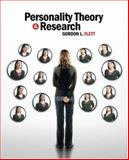 Personality Theory and Research 9780470835500