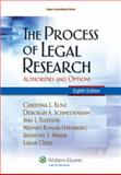 The Process of Legal Research 8th Edition