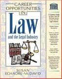 Career Opportunities in the Law and Legal Industry 9780816045532