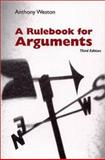 A Rulebook for Arguments 9780872205536
