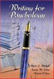 Writing for Psychology 9780155085541
