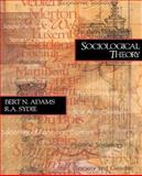 Sociological Theory 9780761985570