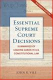 Essential Supreme Court Decisipb 16th Edition