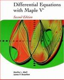 Differential Equations with Maple V 9780120415601