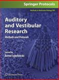 Auditory and Vestibular Research 9781934115626