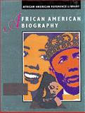 African American Biography 9780787635640