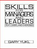 Skills for Managers and Leaders 9780135565643