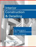 Interior Construction and Detailing for Designers and Architects 9780912045672