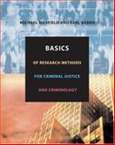 Basics of Research Methods for Criminal Justice and Criminology 9780534615673