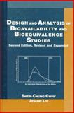Design and Analysis of Bioavailability and Bioequivalence Studies 9780824775728