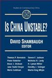 Is China Unstable? 9780765605733