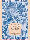 Science and Civilisation in China 9780521085748