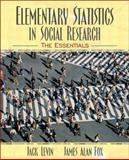 Elementary Statistics in Social Research 9780205375790