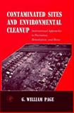 Contaminated Sites and Environmental Cleanup 9780125435802