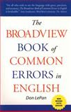 The Broadview Book of Common Errors in English 9781551115863