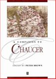 A Companion to Chaucer 9780631235903