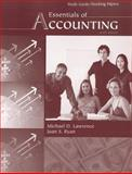 Essentials of Accounting, Study Guide / Working Papers 9780759395923