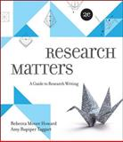 Research Matters 2nd Edition