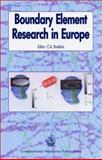 Boundary Element Research in Europe 9781853125942
