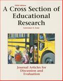 A Cross Section of Educational Research 5th Edition