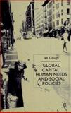 Global Capital, Human Needs and Social Policies 9780312235994