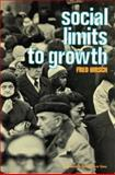 Social Limits to Growth 9781583485996