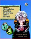 Methods for Teaching Elementary School Science 5th Edition