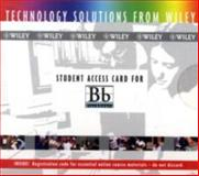Student Access Card for Blackboard 9780471656104