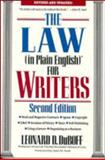 The Law (in Plain English) for Writers 9780471536154