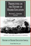 Perspectives on the History of Higher Education 2006 9781412806176