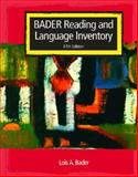 Reading and Language Inventory 9780131196179